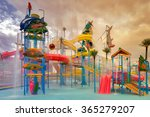 Waterpark In Luxury Tropical...