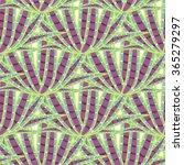 agave succulent desert seamless ... | Shutterstock .eps vector #365279297