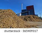 bio power plant with storage of ... | Shutterstock . vector #365409317