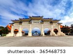 The chinese archways are...
