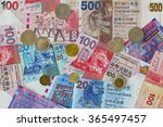 Different Hong Kong Currency...