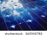 Photovoltaic With Cloudy Sky...