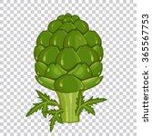artichoke on transparent...   Shutterstock .eps vector #365567753