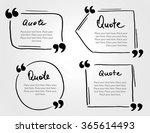 grunge hand drawn marker blank... | Shutterstock .eps vector #365614493