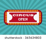circus icons design  | Shutterstock .eps vector #365634803