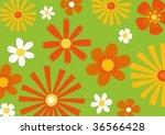 floral background | Shutterstock .eps vector #36566428