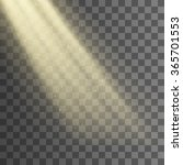 rays of light from the window... | Shutterstock .eps vector #365701553