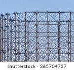 A Gas Storage Tank's Steel...