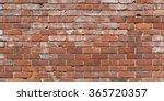 Long Brick Wall Background   A...