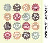 converse pictogram   Shutterstock .eps vector #365765147