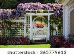 Botanical Garden White Fence...