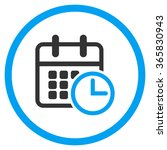 timetable vector icon. style is ... | Shutterstock .eps vector #365830943