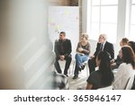 business group seminar meeting... | Shutterstock . vector #365846147