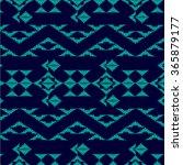 tribal art boho pattern. ethnic ... | Shutterstock .eps vector #365879177