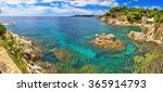 the bay of costa brava in... | Shutterstock . vector #365914793