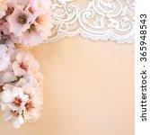 wedding background closeup with ... | Shutterstock . vector #365948543