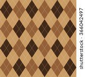 argyle basic seamless texture... | Shutterstock . vector #366042497