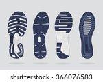 Shoes Sole. Vector
