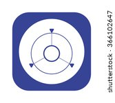 gps navigation. icon  vector...
