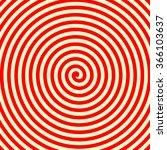 Red White Swirl Abstract Vorte...