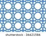 decorative wallpaper design in... | Shutterstock .eps vector #36621586
