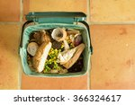 indoor food recycling caddy... | Shutterstock . vector #366324617