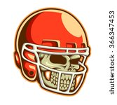 vector illustration of football ... | Shutterstock .eps vector #366347453