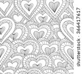 Hand Drawn Seamless Pattern Of...