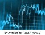 stock market graph and bar... | Shutterstock . vector #366470417