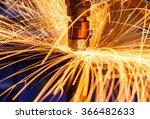 industrial welding automotive... | Shutterstock . vector #366482633
