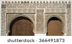 detail of the decorative... | Shutterstock . vector #366491873