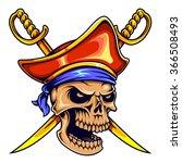 vector illustration of pirate...   Shutterstock .eps vector #366508493