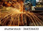 industrial welding automotive... | Shutterstock . vector #366536633