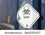 pictogram for chemical hazard ... | Shutterstock . vector #366593357