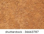 Ground Soil Surface Texture....