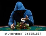 poker player showing a pair of... | Shutterstock . vector #366651887
