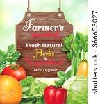 poster design for farmers...   Shutterstock .eps vector #366653027