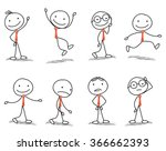 stick man with different poses...