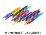 colored pencils drawing... | Shutterstock . vector #366680867