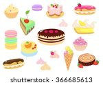 sweet confection | Shutterstock .eps vector #366685613