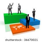 business people | Shutterstock .eps vector #36670021