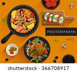 food illustration  ... | Shutterstock .eps vector #366708917