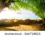 view on the ocean | Shutterstock . vector #366718823