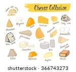 Colorful Cheese Collection....
