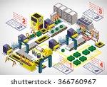 illustration of info graphic... | Shutterstock .eps vector #366760967