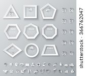 Set Of Geometric Shapes For...