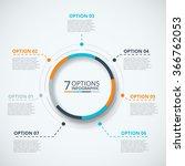vector infographic design... | Shutterstock .eps vector #366762053
