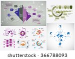 business infographic template... | Shutterstock .eps vector #366788093