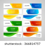 set of vector banners design...