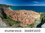 Panoramic View Of The Cefalu ...
